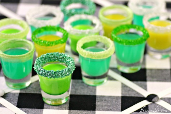 Candy vodka shots by 1 Fine Cookie
