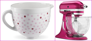 Pink, Striped, Ombre, Cupcakes, tutorial, recipe, white, chocolate, marshmallow, cream, breast, cancer, month, awareness, donate, kitchenaid, kitchen, aid, stand, mixer, raspberry, ice, pretty, girly, giveaway, photography, food, contest, sweepstakes, fuschia, sweeps, win, giveaway, polka, dot, ceramic, bowl, dessert, ideas, valentine's, day,