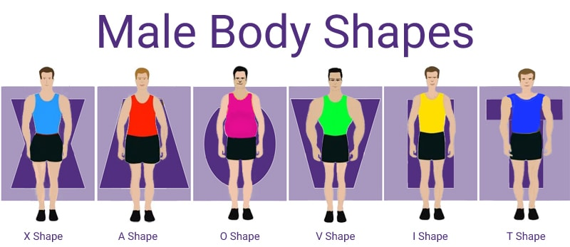 Male Body Type Calculator Mens Body Shape Calculator - NEW!