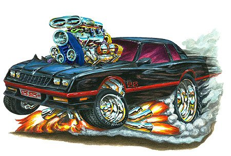 Classic Car Wallpaper Murals Madd Doggs Chevrolet Monte Carlo Ss Muscle Car T Shirts