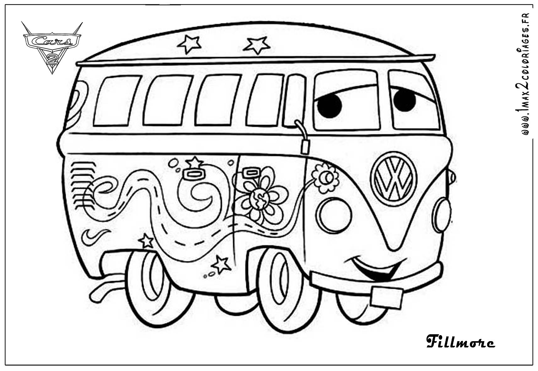 Coloring Pages Of Cars 2 Democraciaejustica
