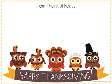 Printable Thanksgiving Placemats for Kids - 1+1+1\u003d1