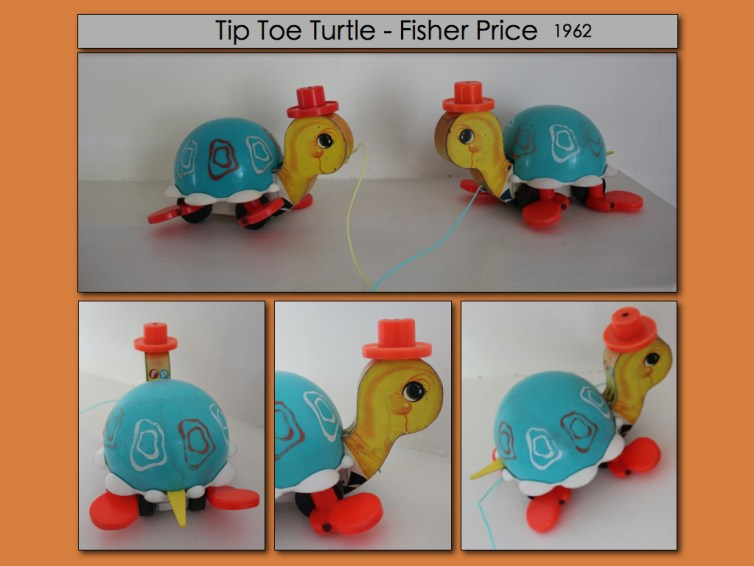 Tortue Tip Toe Fisher Price vintage