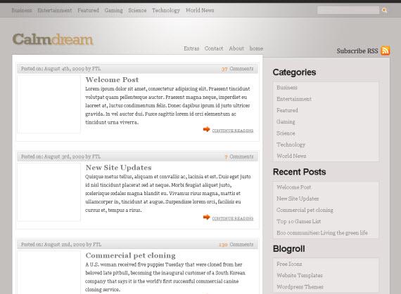 calm-dream-free-premium-wordpress-theme