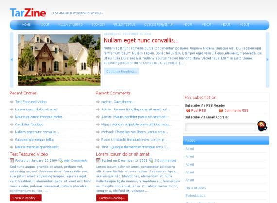 tarzine-free-premium-wordpress-theme