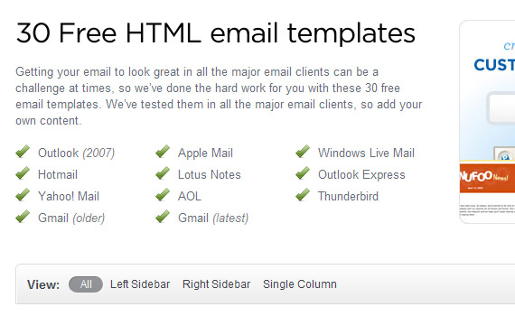 outlook email template free - Roho4senses