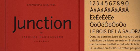 Junction-free-fonts-minimal-web-design