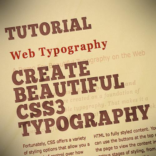 Beautiful-typography-css3-text-effect-tutorials