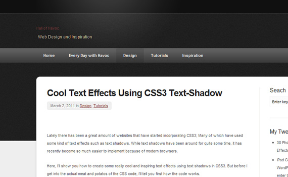 Shadow-css3-text-effect-tutorials