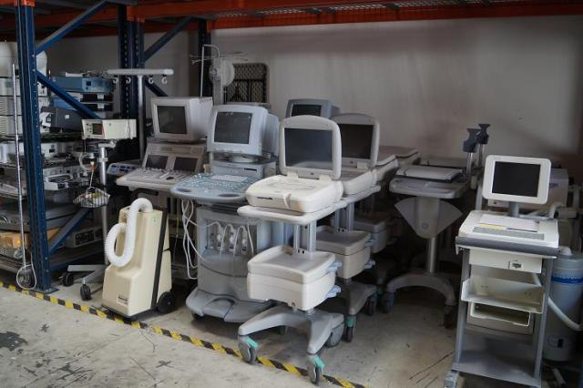 Sequoia ultrasound machines for sale and ekg's for sale