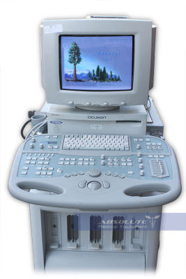 Acuson Sequoia 512 Ultrasound for Sale San Diego refurbished / used with 90 day warranty