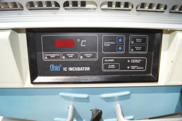 Ohio IC incubator for sale / refurbished used infant incubator