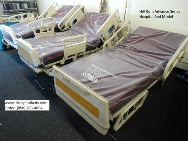 Hill Rom and Stryker hospital beds for sale refurbished