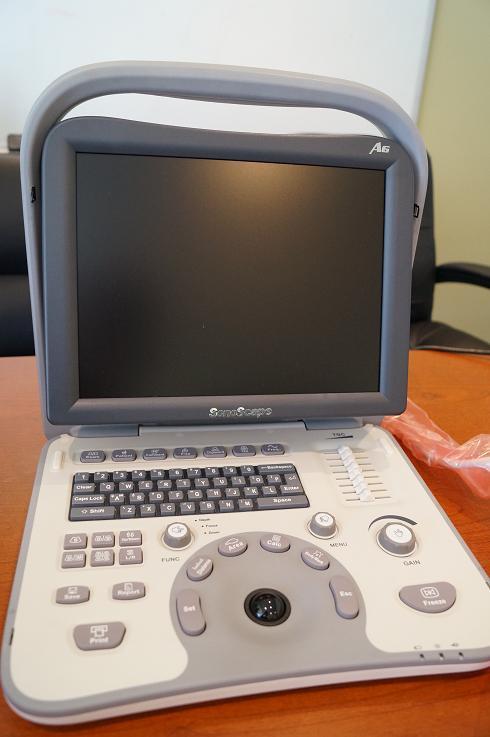 1 Sonoscape A6 portable ultrasound machine for sale 858 731 7278