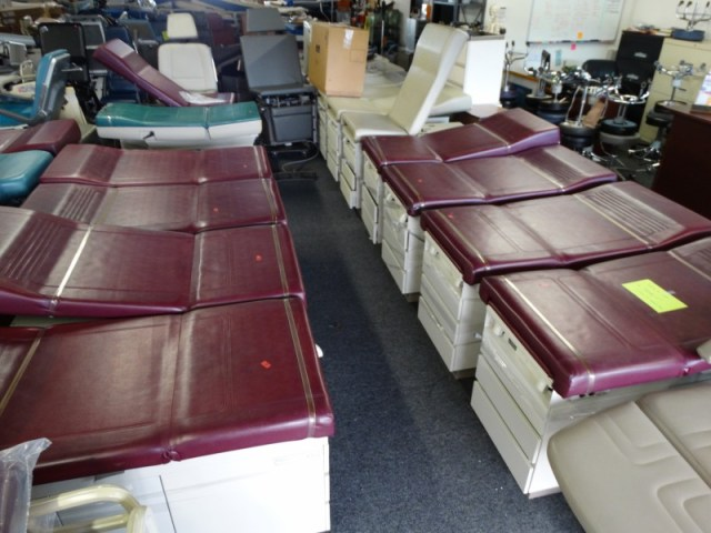 1 Ritter and Midmark exam tables for sale
