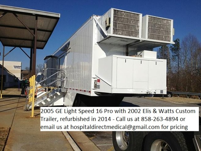 2005 GE Light Speed 16 Pro with 2002 Watt and Elis Trailer
