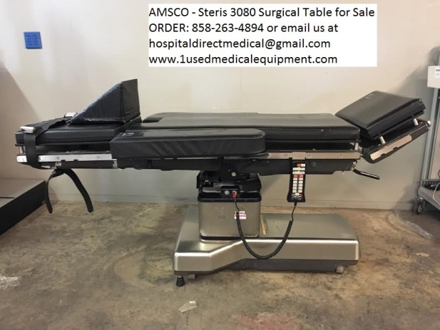 Amsco 3080 OR Surgical table for sale