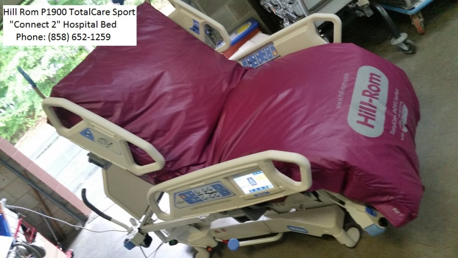 Hill Rom P1900 TotalCare Sport Connect 2 hospital bed for sale