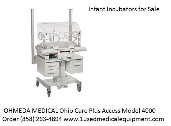 OHMEDA MEDICAL Ohio Care Plus Access Mod 4000 Incubator