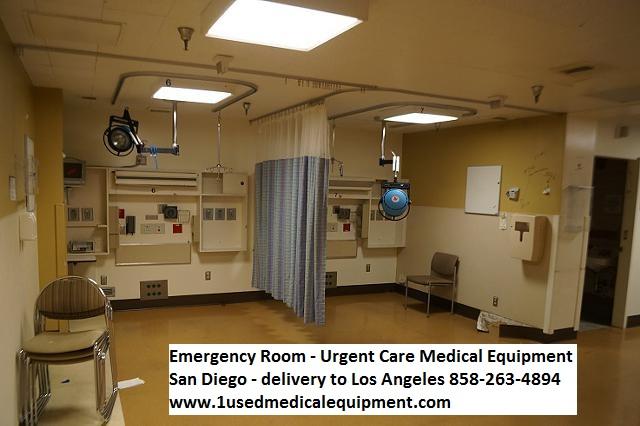 ER emergency room medical equipment props and set design equipment for sale