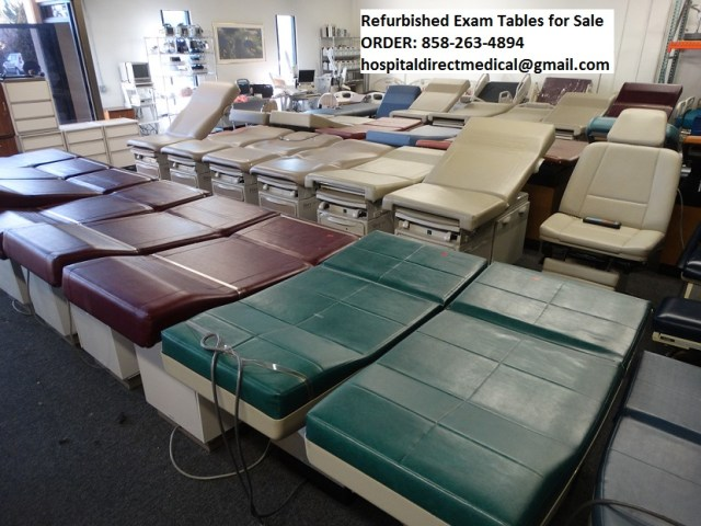 Exam Tables Examination Room Tables Used Refurbished Used Hospital Medical