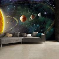 OuterSpace Planets and Stars Wall Mural | 315cm x 232cm