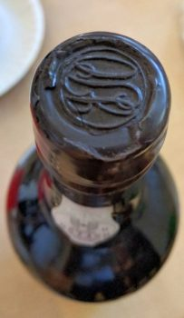 1927 D'Oliveiras Bastardo Reserva Madeira Seal