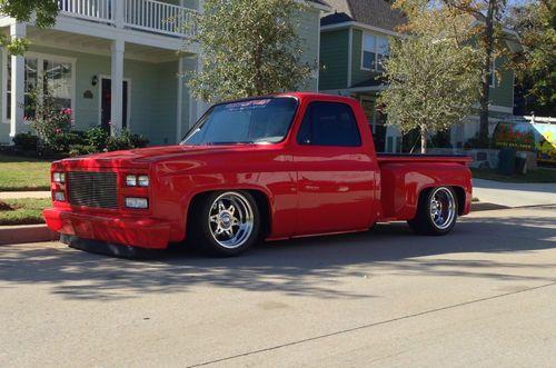Find used 1984 Custom GMC / Chevrolet Stepside Show Truck in Aubrey