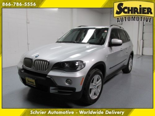 Find Used 2008 Bmw X5 48l Awd Silver Navigation Panoramic