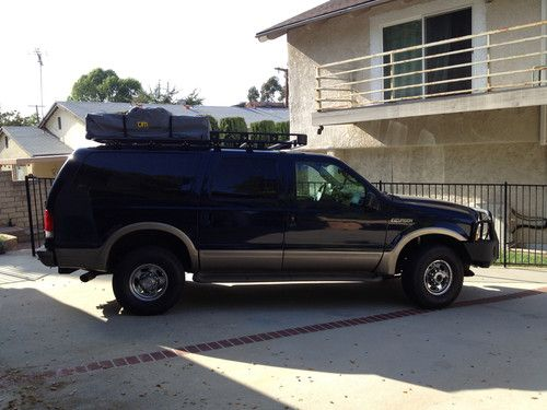 Find Used 2003 Ford Excursion 4x4 Bug Out V10 Warn Bumper