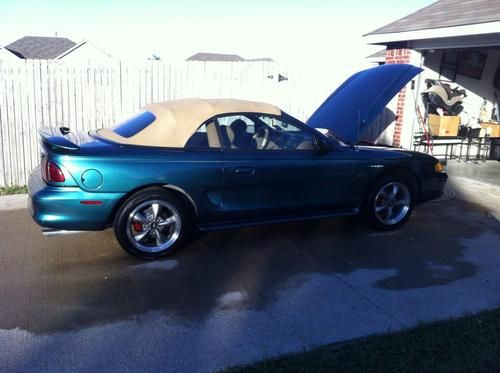 Sell used 1996 Ford Mustang GT Convertible 2-Door 46L in Rockwall