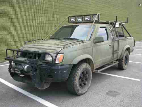 Buy Used 1998 Nissan Frontier Xe Extended Cab Pickup 2