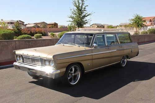 Find used 1965 Ford Fairlane 500 Wagon 47L 289 Rat Hot Rod Surf