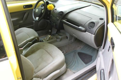 Purchase used 1999 Yellow New Volkswagen Beetle GLS TDi Turbo Diesel