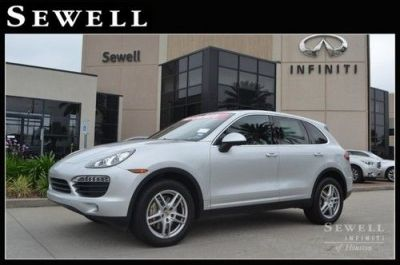 Sell used 2011 Porsche Cayenne at Sewell Infiniti in Houston, Texas, United States, for US ...