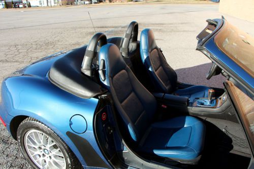 Purchase Used Bmw Z3 Metalic Blue Roadster Low Miles New
