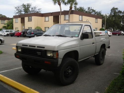 Find Used 1987 Nissan Hardbody 4x4 5spd4cyl In Clearwater