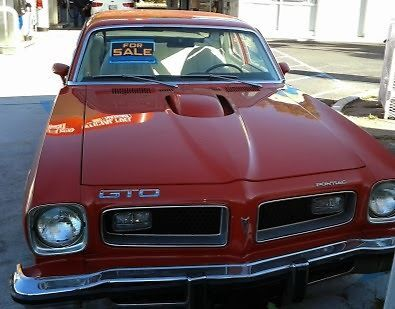 Find used 1974 Pontiac GTO 2-door hatchback, 2nd owner in Frederick