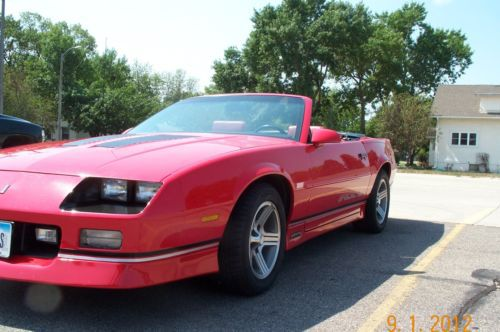 Purchase used 1991 CHEVROLET WHITE CAMARO Z28 T-TOP MINT CLEAR TITLE