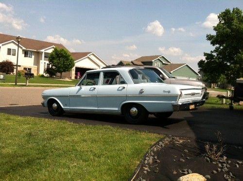 sell used 1963 chevy ii nova 4 door very cool cruiser in