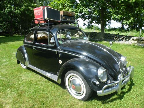 Find used 1955 VW Survivor Awesome Rust Free Oval Rare Classic in
