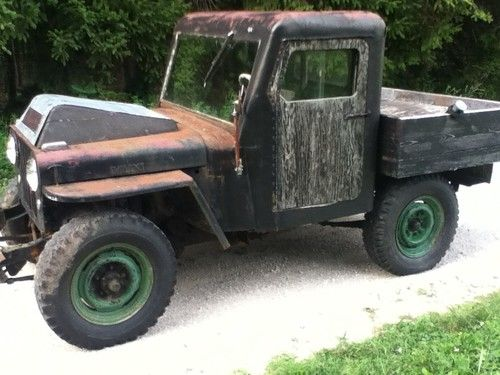 Find used FLATHEAD FORD V8 POWERED WILLYS JEEP CJ2A 45 46 47 48 49