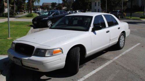 buy used 2006 chp ford crown victoria police interceptor p71 in redondo beach california