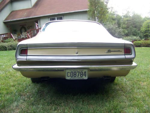 Purchase used 1968 Plymouth Barracuda Formula S Fastback 4 Speed in