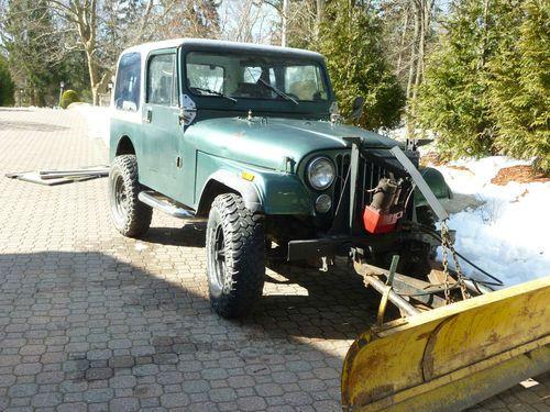 Purchase used 1984 Jeep CJ7 42L 6 Cyl Fiberglass Tub with Western