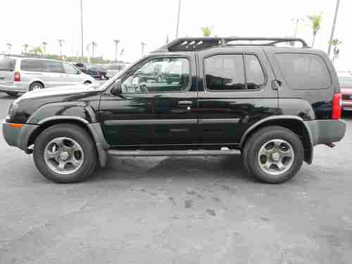 Find used 2003 Nissan Xterra SE Sport Utility Supercharged 2wd