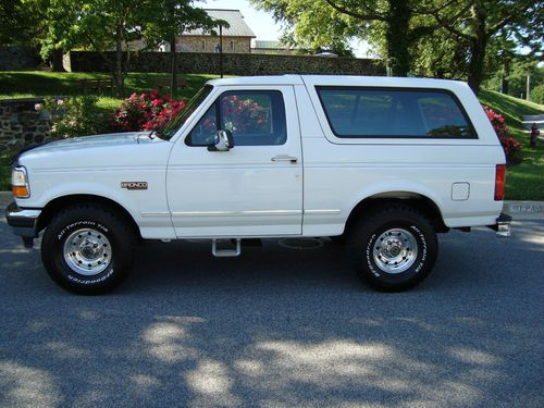 1996 Ford Bronco Fuse Box manual guide wiring diagram
