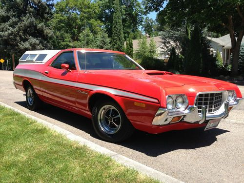 Buy used *NoReserve* 1972 Ford Ranchero GT 351 Cleveland Q Code