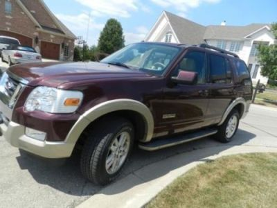Purchase used Beautiful, 2008 Ford Explorer Eddie Bauer, For Sale in Plattsburgh, New York ...
