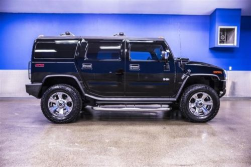 Find Used 2005 Hummer H2 Low Miles 69k Leather Sunroof Dvd
